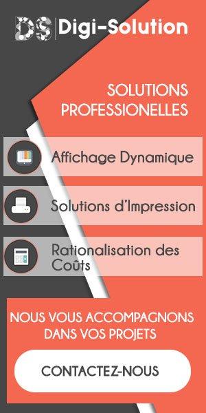 solutions professionnelles affichage dynamique, impression, rationalisation des coûts