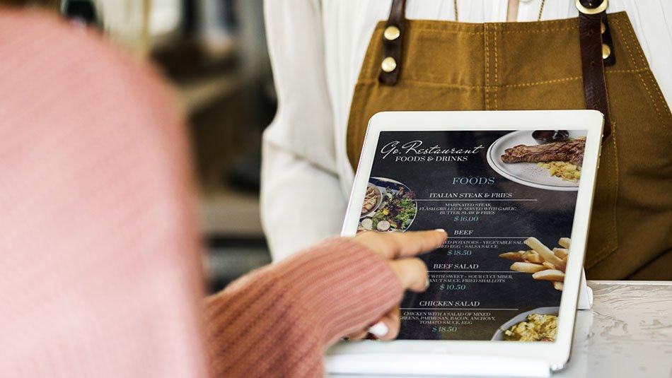 Affichage dynamique dans un restaurant, pourquoi s'équiper ?